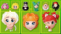 Прически и головы из воздушных шаров