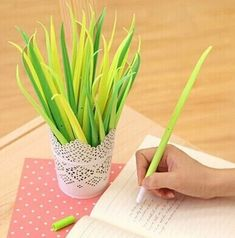 A set of pens that'll also serve as cute home decor. | 22 Awesome Products From Amazon To Put On Your Wish List