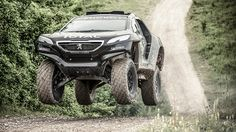 Up close with the Peugeot 2008 DKR