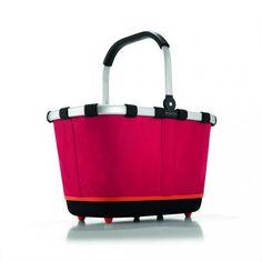 Koszyk carrybag 2 red - DECO Salon.Modern, very practical shopping cart #reisenthel #giftidea #dladomu #naprezent #forhome #accessories #basket