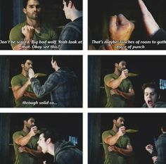 Sterek is still going strong!