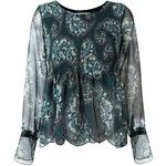 See By Chloé paisley print scalloped blouse