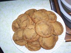 Gluten Free Gingersnap Cookies