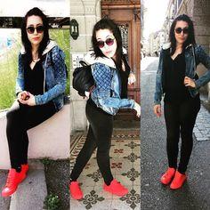 Quando não há inimigos interiores os inimigos exteriores nada podem contra ti   #bomdia #gutenmorgen #bonjour #buenosdias #bongiorno #goodmorning #abençoada #blessed #forever #youngandfree #red #outfitoftheday #lookdodia #switzerland #instagood #jeans #sunnyday by jani.zunskah