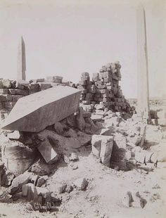Jean-Pascal Sebah, Karnak, Probably around 1890 - by Lempertz