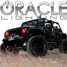 Oracle Lighting JE-WR0713-PK - Jeep Wrangler LED Halo Headlight Kit - Pink