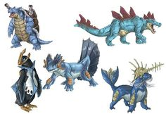 Realistic Pokemon Sketches: Water Final Evolutions by ReneCampbellArt on DeviantArt Pokemon Na Vida Real, Real Pokemon, Pokemon Fusion, Pokemon Agua, Water Type Pokemon, Pikachu, Pokemon Sketch, Pokemon Starters, Pokemon Collection