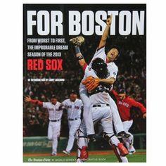 Boston Red Sox 2013 MLB World Series Champions Book