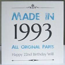 Image result for 21st birthday card male