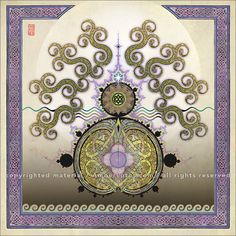 Celtic Blessings 2017 Wall Calendar: Illuminations by Michael Green. Click through to see the most recent edition!