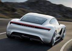 Porsche Mission E : l'anti-Tesla Model S à Francfort