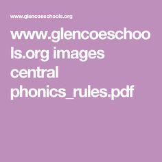 www.glencoeschools.org images central phonics_rules.pdf
