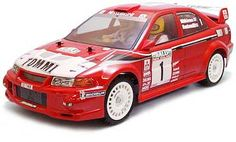 Tamiya RC MITSUBISHI LANCER EVOLUTION VI WRC