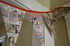 Garlands, comic book style!