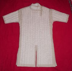 """From my blog """"With Needle and Thread"""": Handmade Gambeson"""