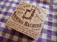 Sewing Machine 東京アンティークアンティークカードスクエアミシン インテリア 雑貨 家具 Antique ¥500yen 〆08月10日