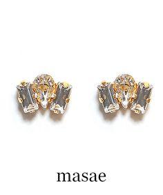 【masae】DAINTY PIERCES #シータ・ミュー Stud Earrings, Accessories, Jewelry, Jewlery, Jewerly, Stud Earring, Schmuck, Jewels, Jewelery