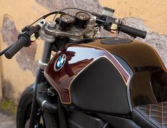 BMW K100 Oxblood by Cafe Twin