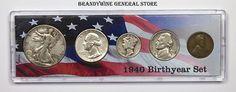 1940 Birth Year Coin Set