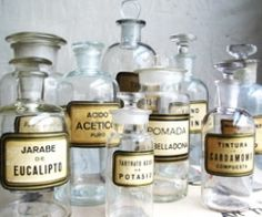 Apartment Therapy Los Angeles | Apothecary Jars Storing Bath Products