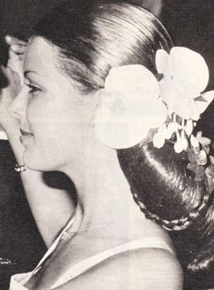 Princess Caroline of Monaco at the Red Cross Ball.1974.