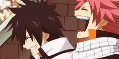 """When Erza challenged all 100 monsters. Gray and Natsu """"LOL GUYS THEY'RE SO SCREWED"""""""