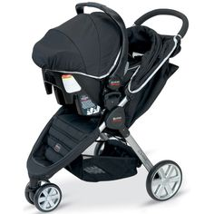 B-Agile Travel System by Britax at BabyEarth.com, $349.95 I like the green one