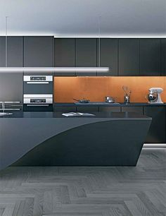 Dream black kitchens at the downtown Vancouver House high-rise luxury residences