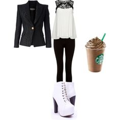 Sem título #109 by leonettaforever-872 on Polyvore featuring moda, ONLY and Balmain