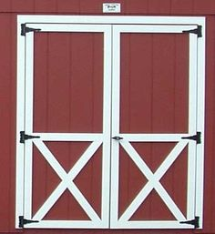 Shed doors Diy Pinterest Gardens Creative and Sheds