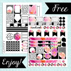 Free Planner Addict Printables: Here it is! The long awaited for Free Planner…
