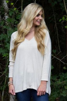It's Safe To Say we have found the perfect ivory sweater for this fall and…