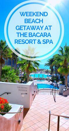 Weekend Beach Getaway at the Bacara Resort & Spa •