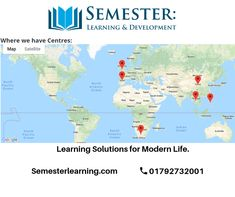 Prospectus - Semester Learning & Development Ltd Vision Statement, Increase Flexibility, Learning Courses, Use Of Technology, Digital Marketing, How To Find Out, Engineering, Environment, University