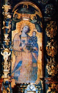 Virgen de la Antigua, virgin of antiquity