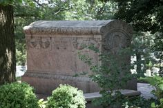 Grave Marker- Robert Lincoln, son of President Lincoln and Robert's wife, Mary. Arlington Cemetery