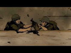 Waltz with Bashir: the waltz scene