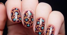 Musely Leopard Nail Art, Leopard Print Nails, Nail Ideas, Hair Makeup, Hair Beauty, Make Up, My Style, Clothes, Fingernail Designs
