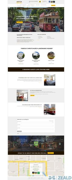 Aotea Motel  - The art and science of good #websitedesign #website #websiteredesign #webdesign #designinsperation #rethinkyourwebsite #layout #redesign #redesignideas #redesigninspiration #creative #landingpages #beforeafter #responsive #leadgeneration #ecommerce