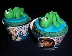 Creando en azucar. Enredados Cupcake