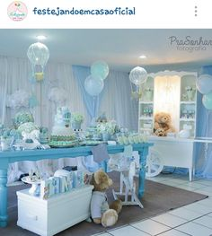 Diy unique baby shower ideas for boys 22 - Free Life Style Idee Baby Shower, Mesas Para Baby Shower, Baby Shower Brunch, Unique Baby Shower, Baby Shower Favors, Shower Party, Baby Shower Games, Baby Shower Parties, Baby Boy Shower