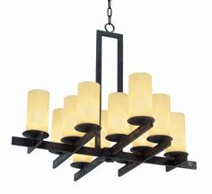 Dante 1 Tier Chandelier by 2nd Avenue Lighting - 871354-36