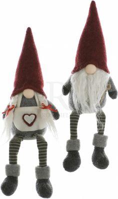 Heart Gonks With Dangling Legs 2a 32cm @ rosefields.co.uk