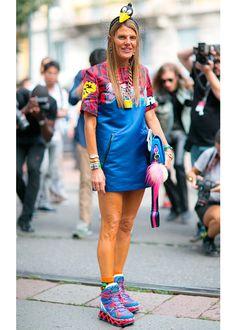 The most eye-catching looks of Fashion Month / Les looks les plus fous du mois de la mode