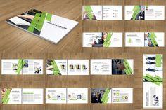 Corporate Indesign Brochure/Catalog by SmmrDesign on Creative Market