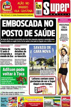 Capa do Super Notícia em 11 de maio de 2012.