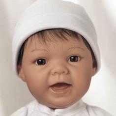 Lee Middleton Newborn Nursery | Lee Middleton Newborn Nursery Sweet Baby Brown Hair/Brown Eyes #929