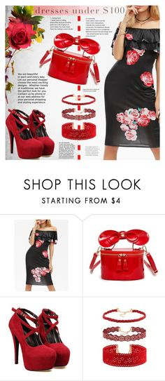 """""""Under $100: Summer Dresses"""" by katjuncica ❤ liked on Polyvore featuring under100"""