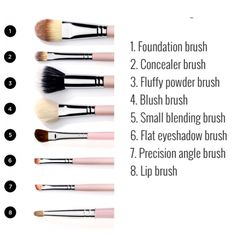 One of the essential [starting] make up brushes youll need.