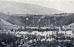 Cérémonie d'ouverture des JO d'Athènes en 1896